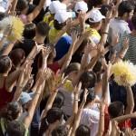 cagliari 7 9 08 visita del Papa foto di elisabetta loi